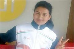 mahima of manali selected for all india junior kabaddi team