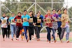 jail warder recruitment  228 girls shed the sweat in the ground