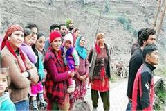 rocks slippery in kullu and rampur people save life by escape