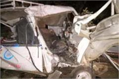 5 people of same family killed 15 injured in road accident