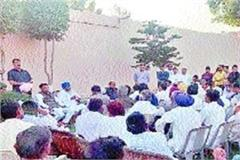 workers gathered in electoral preparations in their areas abhay chautala