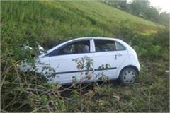 uncontrolled car crashes bike rider 3 killed 5 injured
