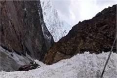 the grip of the glacier