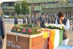 body of martyr pankaj reached agra wrapped in a tricolor every eye was damp