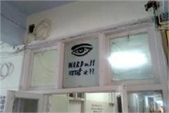 negligence in eye operation in bhiwani