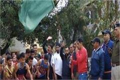 organizing marathon at nalwad fair