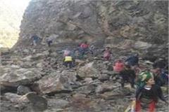 landslide in larji dam