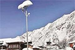 the bus stop services in kinnaur have been suspended for two months