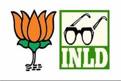 inld and bjp meets in delhi