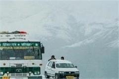hrtc buses will not go beyond kullu after 6 pm