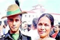 abhishek in army