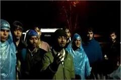 14 pilgrims from aligarh stranded on ganga island elephants surrounded