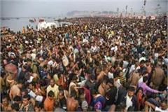 more than 10 million devotees plunge into ganges and sangam on maha shivaratri