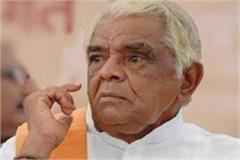 babu lal gaur refuses to contest election congress raises questions