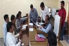 mahesh sharma gets nomination papers from gautam buddha nagar lok sabha seat