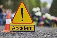 painful road accidents 2 deaths on the spot