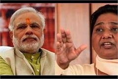mayawati spoke on advani statement