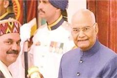 dr umesh bharti dedicated the padma shri award to jwala maa