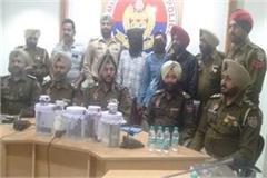 3 pistols 11 cartridges 2 drugs including drugs money arrested