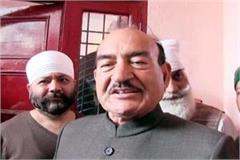kaul singh gave big statement about discord between virbhadra and sukhram