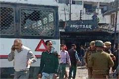 grenade attack near jalandhar bus in jammu