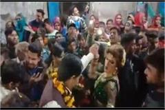 bsp councilor began to dance
