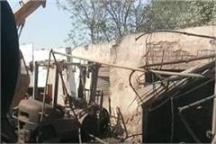 an explosion in oil tanker on kutna road father son s death