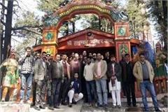 education minister worship in jakhu temple to make modi pm again