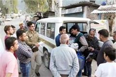 police action on illegal businessmen