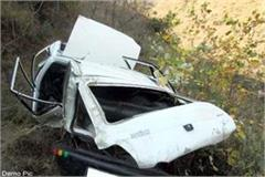 2 painful road accidents in shimla death of 2 3 injured