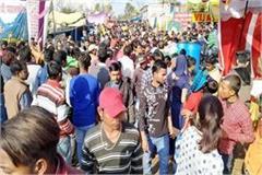lakhs of devotees attendance in kathgarh temple