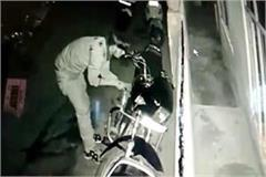 theft crime record in cctv