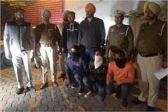 3 thief arrested