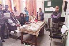 mla did surprise visit of phc