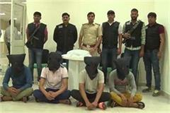 five criminals arrested by stf in encounter