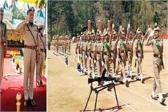 688 soldiers of himachal police take oath of serving the country