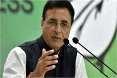 surjewala said government has only one view running liquor factory