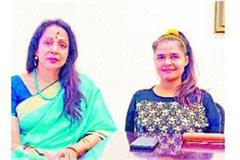 dangal girl neelam takes over hema malini election campaign charge