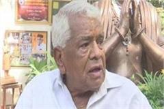 babulal gaur s health worried