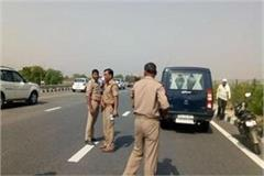 8 people dies in car accident on agra lucknow expressway