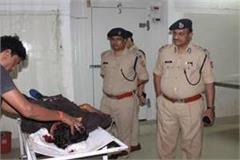student shot dead at night in allahabad university