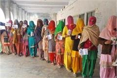 women are showing disrespect to voting in haryana