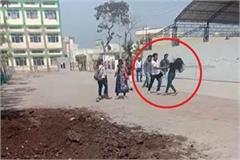 viral video of slapping girl and boy student each other