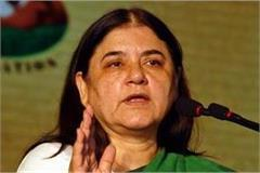maneka gandhi order to police soon solve problem of sultanpur public