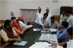 jaya prada will fill nomination in rampur today