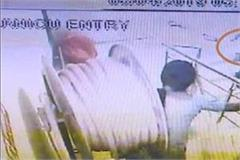 watchmen of the hospital captured in cctv