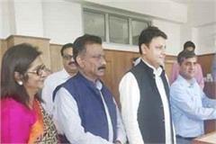 congress candidate pawan kajal filed nomination from kangra