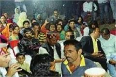 folk singer sunil rana has performed dance at the satoway mela