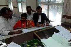 keeping silent sadhvi pragya has filed a nomination one day before