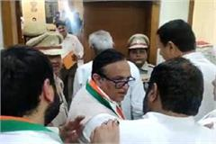 captain ajay singh filled the nomination for gurugram seat